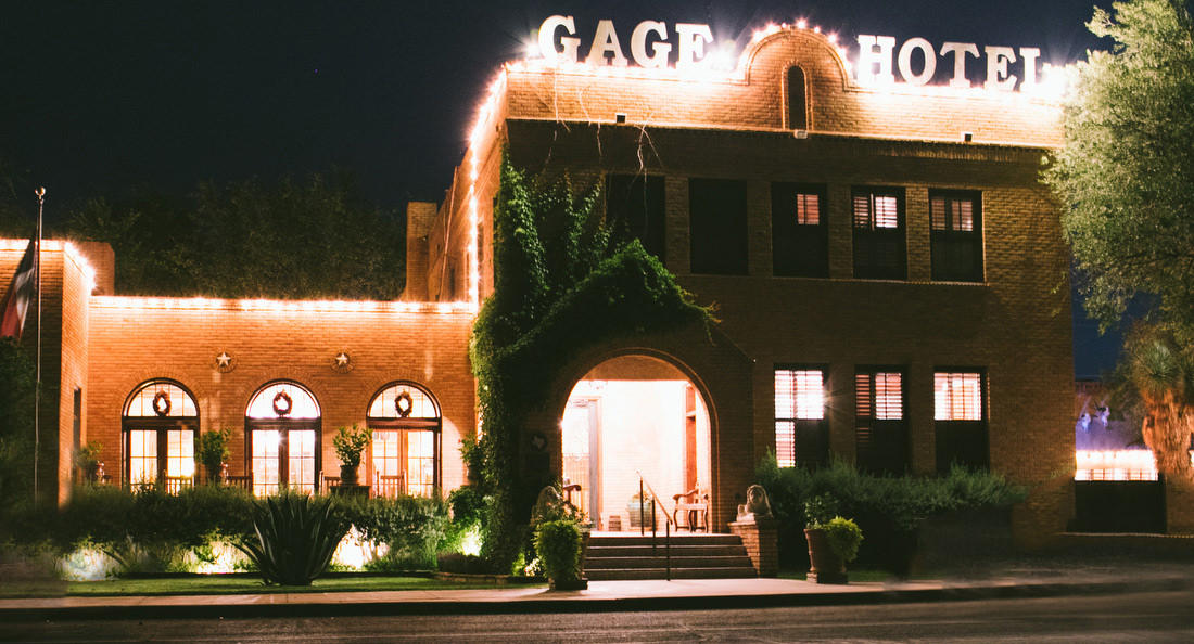 gage hotel marathon texas