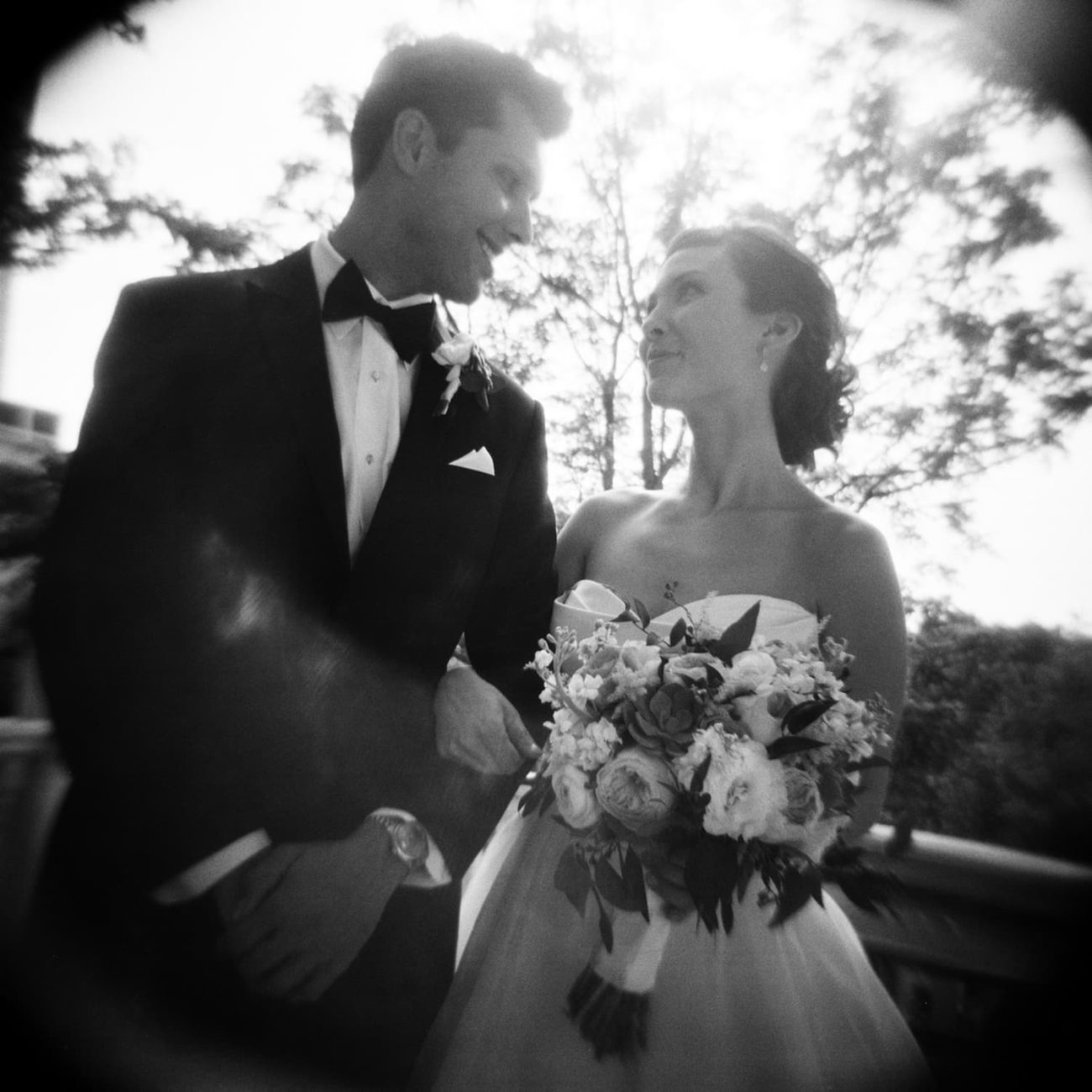 holga wedding photography